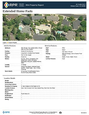 Property Snapshot Sample (Page 4)