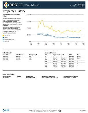 Comprehensive Property Report Sample (Page 12)